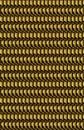 Macro of a dark gold or bronze metallic surface. Royalty Free Stock Photo