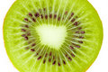 Macro food collection - Kiwi slice Stock Photos