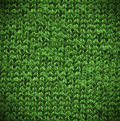 Macro green Of A Cotton Texture Royalty Free Stock Photo