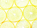 Macro of lemon slices Royalty Free Stock Images