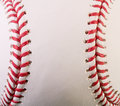 Macro New Baseball Royalty Free Stock Photo