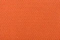 Macro Orange Fabric Royalty Free Stock Photo
