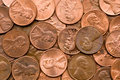 Macro of Penny Royalty Free Stock Photo