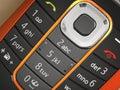 Makro fotografie z mobilní telefon klávesnice