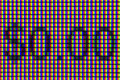 Macro pixels with 0 dollars