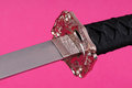 Macro Samurai Sword Royalty Free Stock Photo