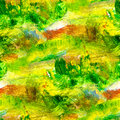 Macro seamless texture green oil painting on Royalty Free Stock Photo