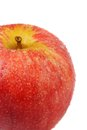 Macro shot of Gala Apple Stock Photography
