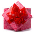 Macro shot of gift Royalty Free Stock Photo