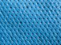 Macro texture - blue tarp Royalty Free Stock Photo