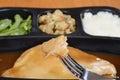Macro Turkey Tv Dinner