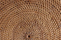 Macro of woven Thai mat. Royalty Free Stock Photo