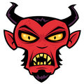 Mad Devil Royalty Free Stock Images