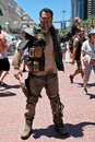 Mad Max Character at San Diego Comic-Con International 2016 Royalty Free Stock Photo