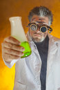 Mad Scientist Stock Photography