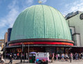 Madame tussaud musem london the green dome of wax museum in england Royalty Free Stock Photography