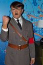 Madame tussauds collection london adolf hitler wax statue at the legendary museum in Royalty Free Stock Photos