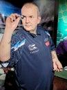 Philip Douglas Taylor - English retired professional darts player, won 216 professional tournaments, Royalty Free Stock Photo