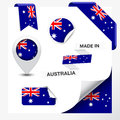 Made In Australia Collection Royalty Free Stock Photo