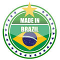 Made in brazil Royalty Free Stock Photography