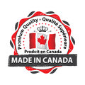 Made in Canada, Premium Quality stamp