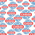 Made in Canada seamless pattern background icon.