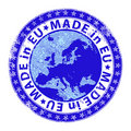 Made in EU Stock Photo