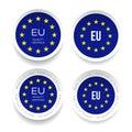 Made in Eu. Certfied Quality sticker