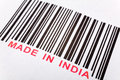 Made in India Royalty Free Stock Photo