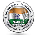 Made in India, Premium quality, because we care - icon