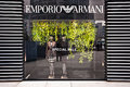 MADE IN ITALY: Emporio Armani store Stock Images