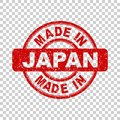 Made in Japan red stamp.