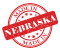 Made in Nebraska stamp