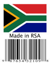 Made in South Africa. Royalty Free Stock Photos