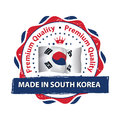 Made in South Korea, Premium Quality