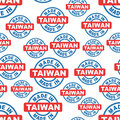 Made in Taiwan seamless pattern background icon.