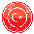 Made in Turkey Stock Photos