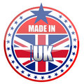 Made in UK Stock Image