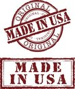 Made in usa Stock Images