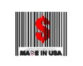 Made in USA. Royalty Free Stock Photography