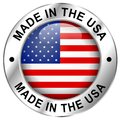 Made in usa icon Royalty Free Stock Photo