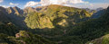 Madeira Balcoes Mountain Panoramic Miradouro dos Balcões Royalty Free Stock Photo
