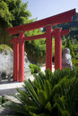 Madeira - Japanese torii gate Royalty Free Stock Images