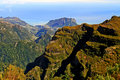 Madeira mountains Stock Photos
