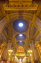 Madeleine Church interior vertical view. Stock Photography