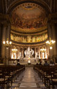 Madeleine church la near the concorde paris Royalty Free Stock Image