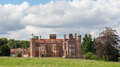 Madingley hall cambridge university built in by sir john hynde part of Stock Photos