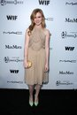 Madisen beaty at the sixth annual women in film pre oscar coctail party fig olive los angeles ca Stock Photography