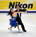 Madison Chock & Greg Zuerlein (USA) Royalty Free Stock Photos