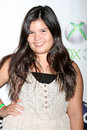 Madison De La Garza arrives at the  Royalty Free Stock Photos